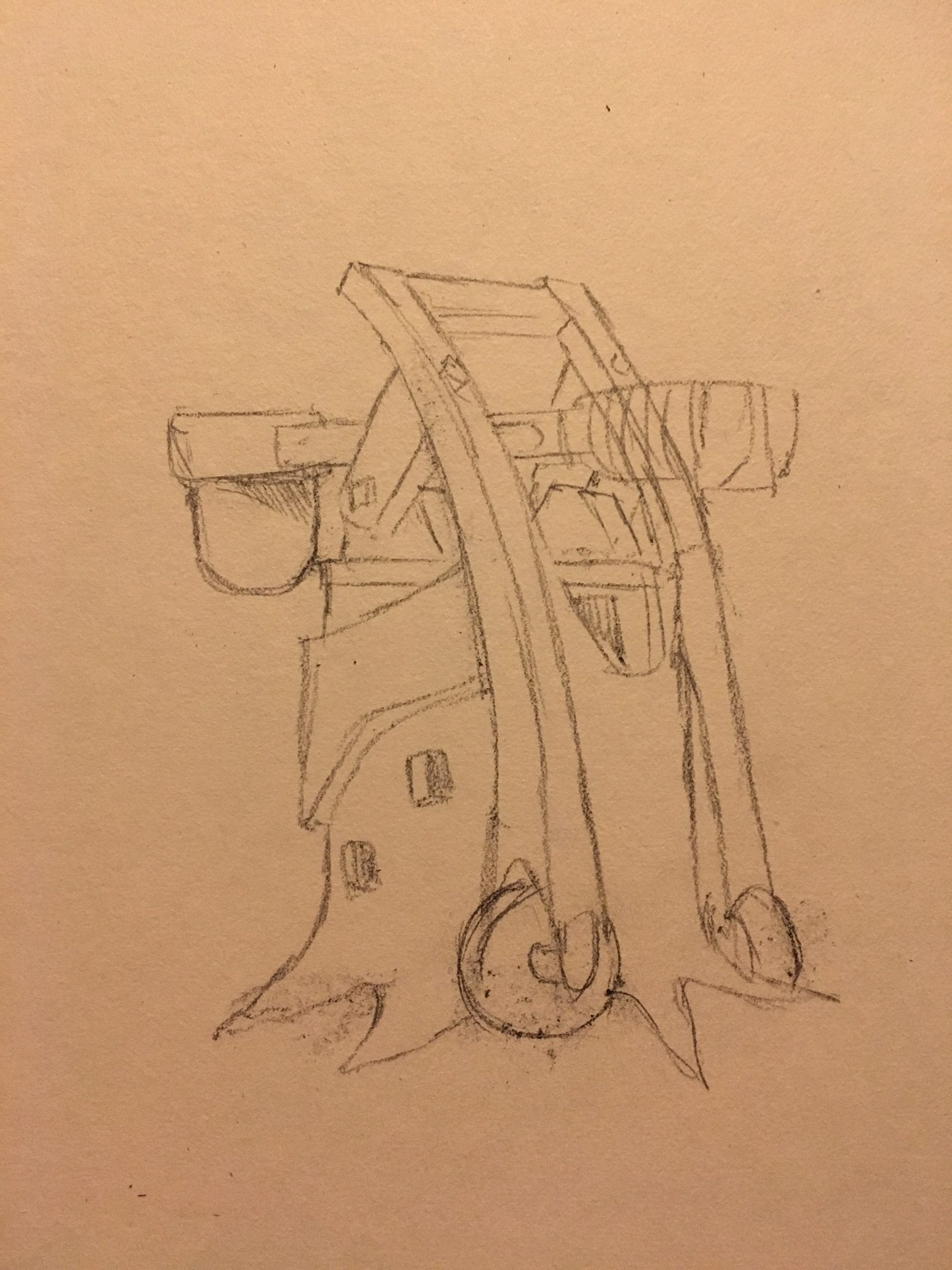 Pestilence Launcher concept sketch