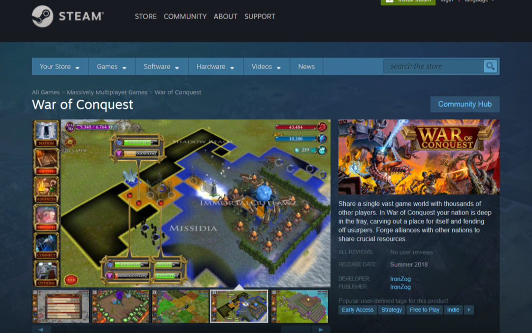 War of Conquest launches on Steam Early Access September 20th!